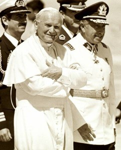 Pinochet and the Pope