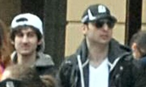 Those accused of (Dzhokhar, left, and Tamerlan Tsarnaev, right) have been labelled Muslim extremists by the press.