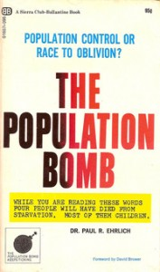 Paul Ehrlich argues in his book that the planet would be so overpopulated in the 70s and 80s that mass starvation would be rampant. Many of his predictions did not come to pass.