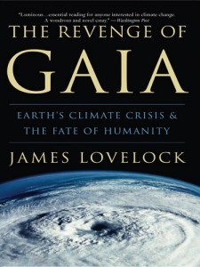 The scientist James Lovelock warns that climate change, as a result of overpopulation, could result in the planet getting 'revenge' on us.