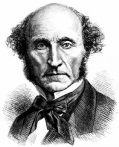 The liberal philosopher, John Stuart Mill, presented his argument in support of the death penalty in the House of Commons.