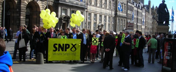 The SNP leadership is quietly backing Brexit