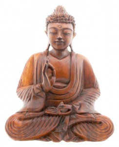 Atheists should adopt the moral teachings of religious founders, such as the Buddha.