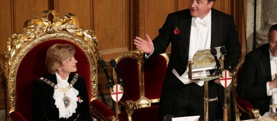 Who cares about the position of David Cameron's buttocks?
