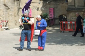 Fathers 4 Justice campaigners