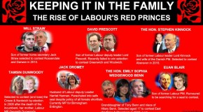 Labour's Red Princes: Opening Up The Closed Shop Of Politics