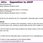 NUS officially opposes Ukip with latest bill