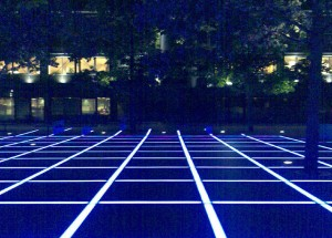 But outdoor spaces could look like TRON!