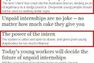 Guardian still advertising unpaid work experience