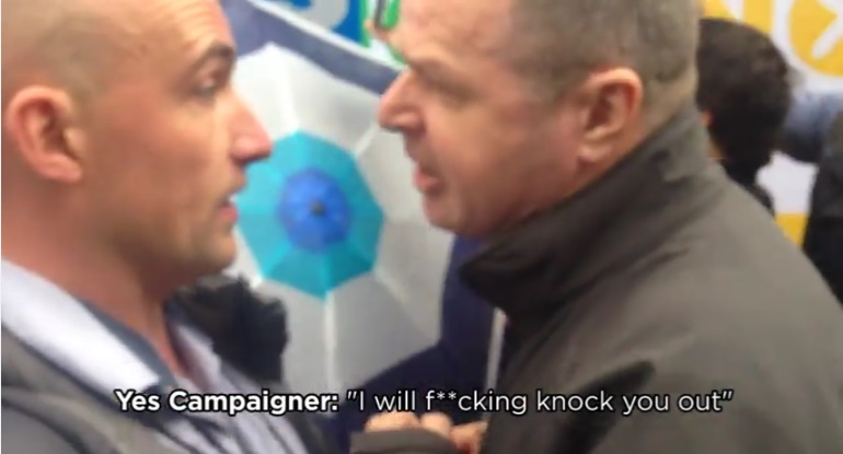 yes campaigner - i will fucking knock you out