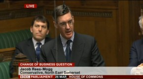 "WATCH: ""Jiggery Pokery"" Politics does not impress Jacob Rees-Mogg on Speaker's future"