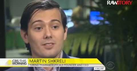 In Defence Of Martin Shkreli