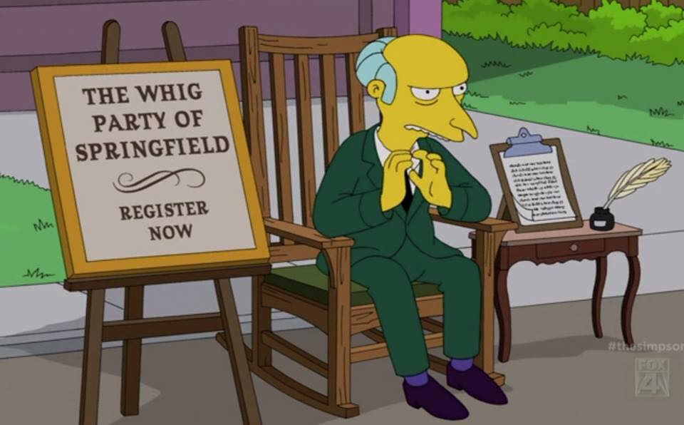 """The Simpsons"""" Shows A Classic Example Of Crony Capitalism In Action   The  Backbencher"""