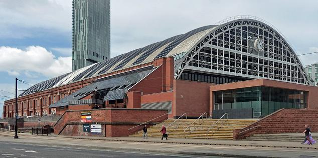 Manchester Central Arena - location of the Tory party conference