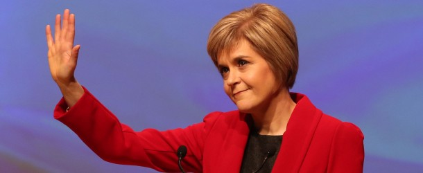 Sturgeon Respects Trump Victory, Ignores IndyRef