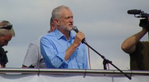 The Frightening Experience of a Jeremy Corbyn Rally