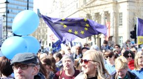 Last march of the Remainers? Anti-Brexit protestors take central London