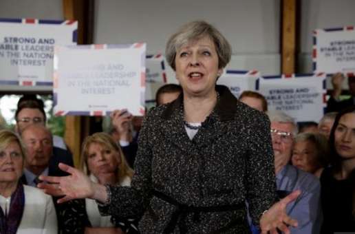 May Visits Wales as Labour Withdraw from the Celtic Fringe