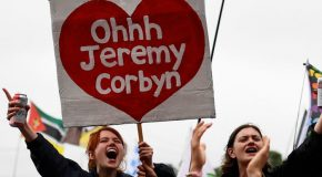 Those singing 'Oh Jeremy Corbyn' don't represent the working-class