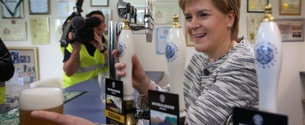 The SNP's Minimum Pricing on Alcohol: A policy conceived in a brewery
