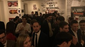 Labour are 'bonkers' young Tories told at London Christmas Party