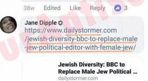 Admin of top pro-Corbyn Facebook group shares neo-Nazi article on Jews