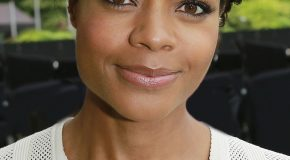 BRITISH STAR NAOMIE HARRIS HELPS OPEN NEW OMEGA STORE IN NYC